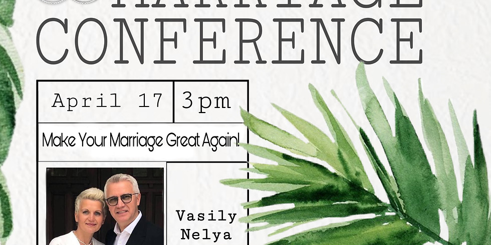Marriage + Family Conference