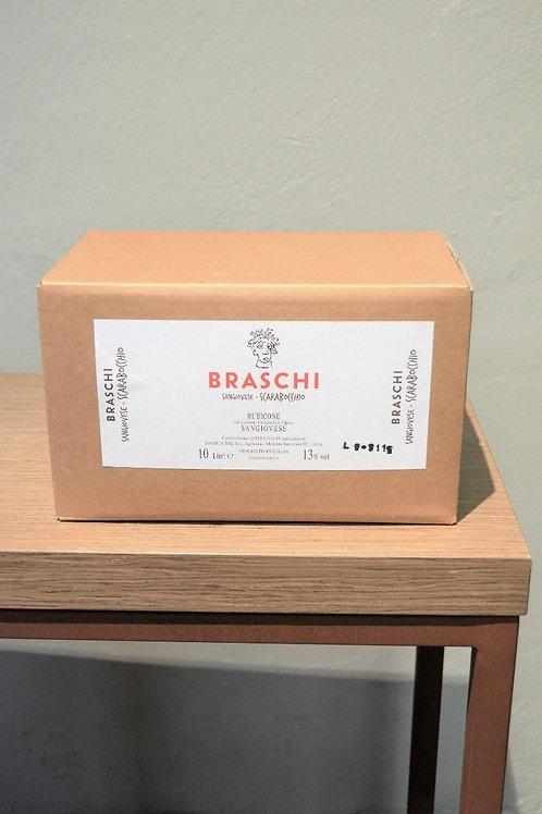 BAG IN BOX 10 L SCARABOCCHIO ROSSO