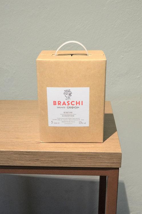 BAG IN BOX 5 L SCARABOCCHIO ROSSO