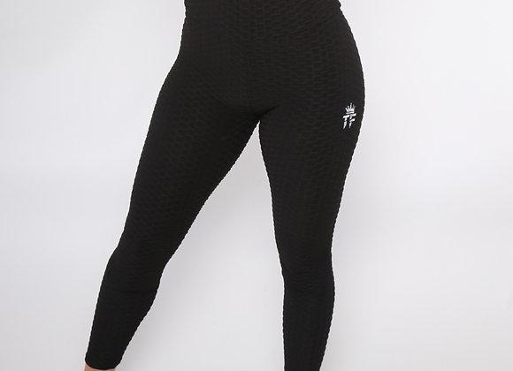 Long N' Wavy booty leggins