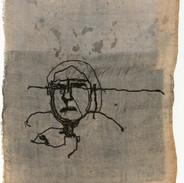 Stitch and print on silk series