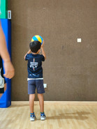 Since 5 years old kids can already enjoy volleyball