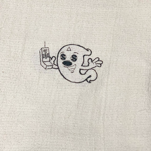 Hk Giggy ghost hand towel