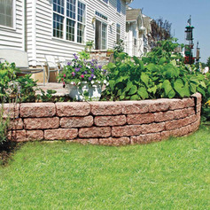 Walls by Stone & Mulch Center Material