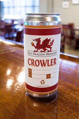 crowler, red dragon brewery, microbrew, red dragon crowler