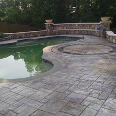 Stamped Concrete Pool Decks by Greystone MasonryStamped Concrete Pool Decks by Greystone Masonry