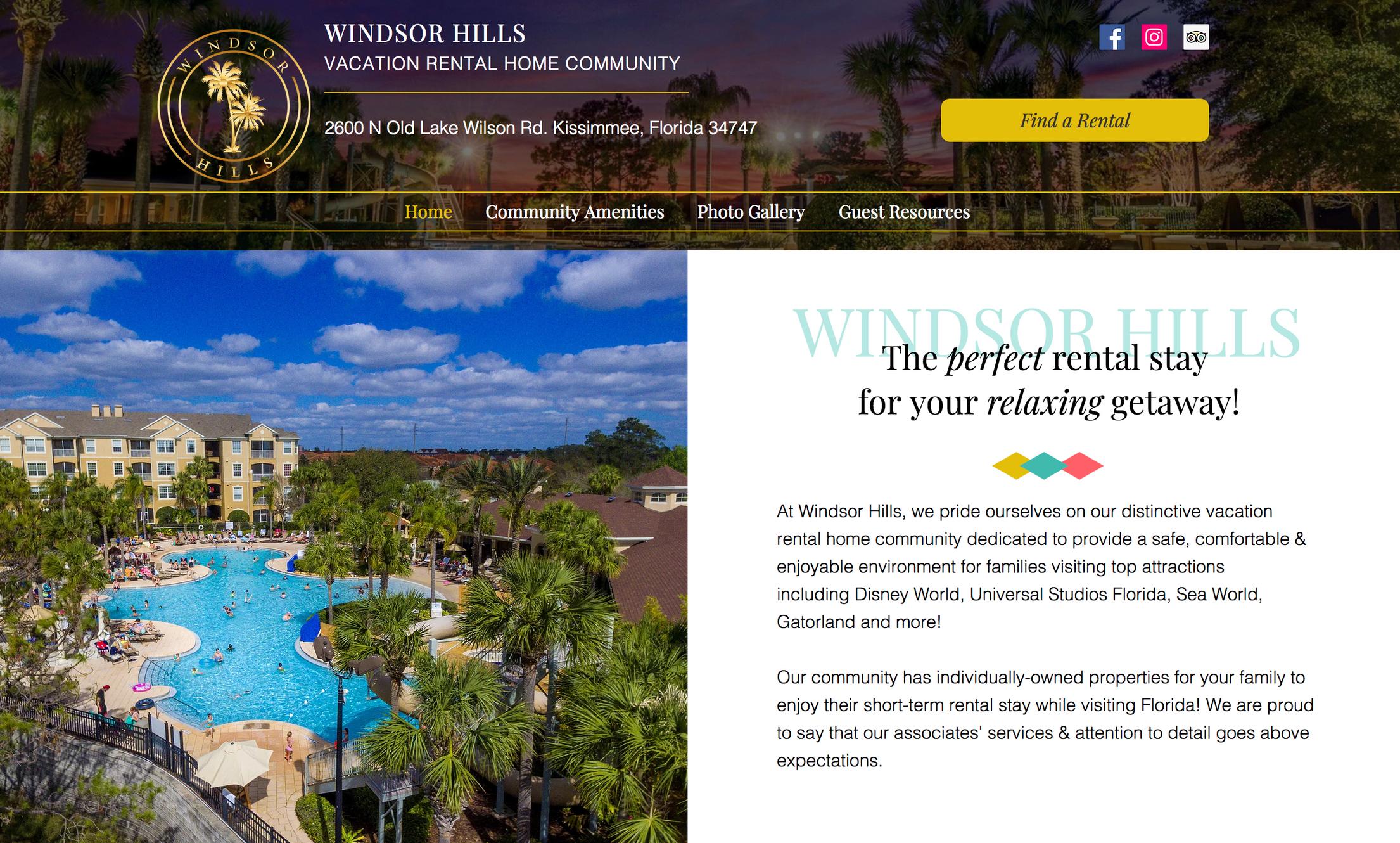 Vacation Rental Homes | Kissimmee, Florida | Windsor Hills