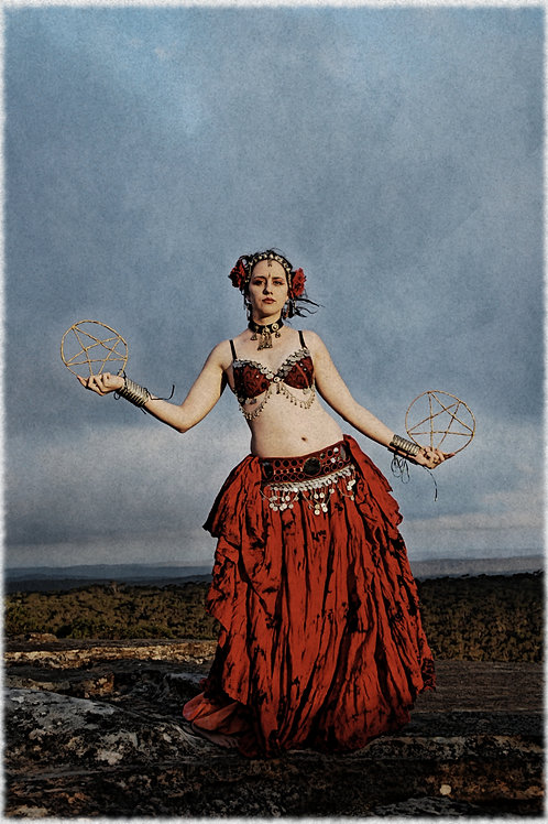 The 2 of Pentacles - Signed Print