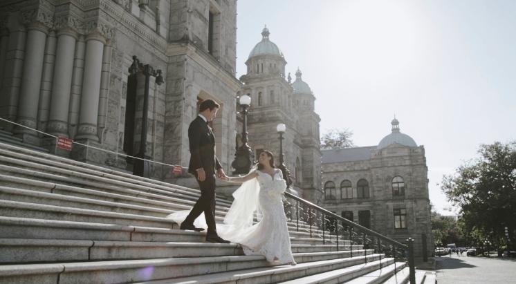 Victoria Wedding Video  |  Shangar + Darian  |  Fairmont Empress Hotel Wedding, Victoria, BC