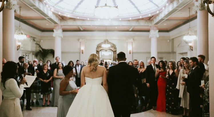 Victoria Wedding Video  |  Channelle and Arif  | St. Ann's Academy and Fairmont Empress Wedding
