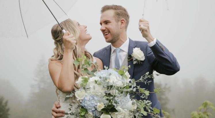 Squamish Wedding Video  |  Mia and Connor  | Private Property Wedding, Squamish, BC