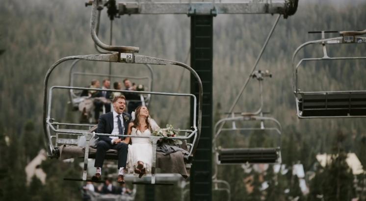 Mt. Washington Wedding Video  |  Michelle and Jordan  | Mt. Washington Alpine Resort Wedding