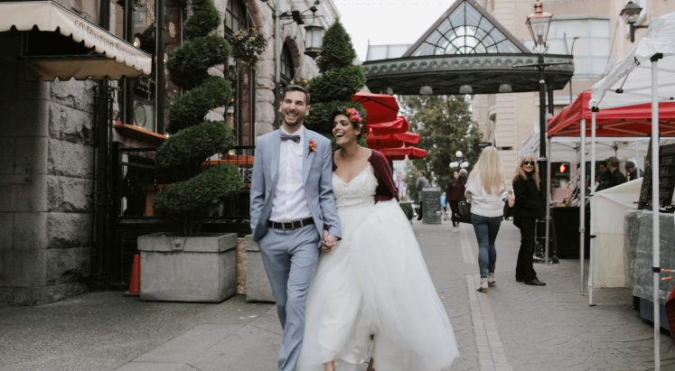 Victoria Wedding Video  |  Rad and Rob  | Dobosala Cantina and Fortune Gallery Wedding, Victoria, BC