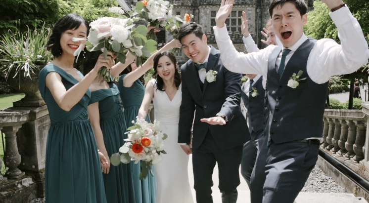 Victoria Wedding Video  |  Steven + Amy  |  Hatley Castle and Canoe Brewpub Wedding, Victoria, BC