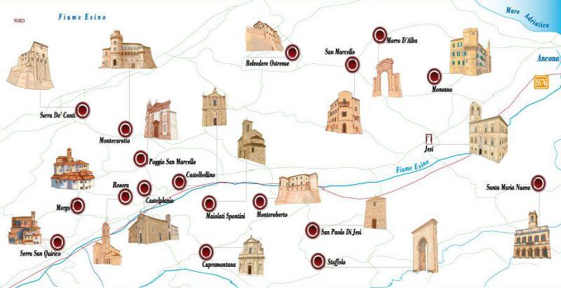 Una gita di qualche ora: La Valle dei Castelli di Jesi