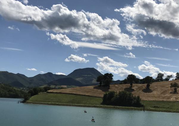 Una gita pomeridiana: il Lago di Cingoli