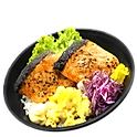 SHAKE TERIYAKI DON (SALMON)