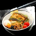 Salmon Pesto Udon
