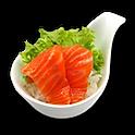 Salmon Sashimi Cup Sushi