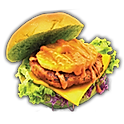 TORI TERIYAKI MACHA BURGER (CHICKEN)