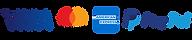 Fizetési lehetőségek logói