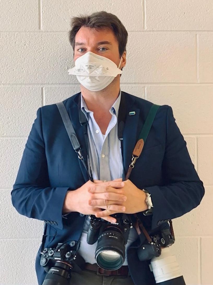 A Biden adminisztráció Fehér házi fotósa.