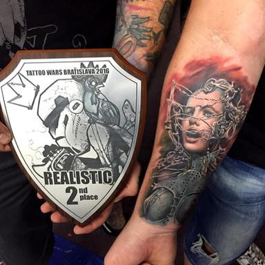 2nd realistic Tattoo wars Bratislava 2016