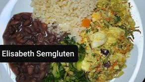 FAROFA VEGETARIANA        #semgluten #semleite