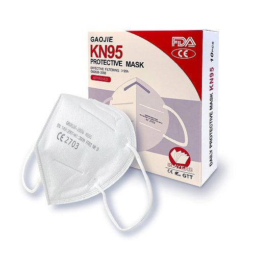 KN95プロテクティブマスク(10枚入り)