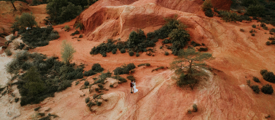 Mariage au Colorado Provençal