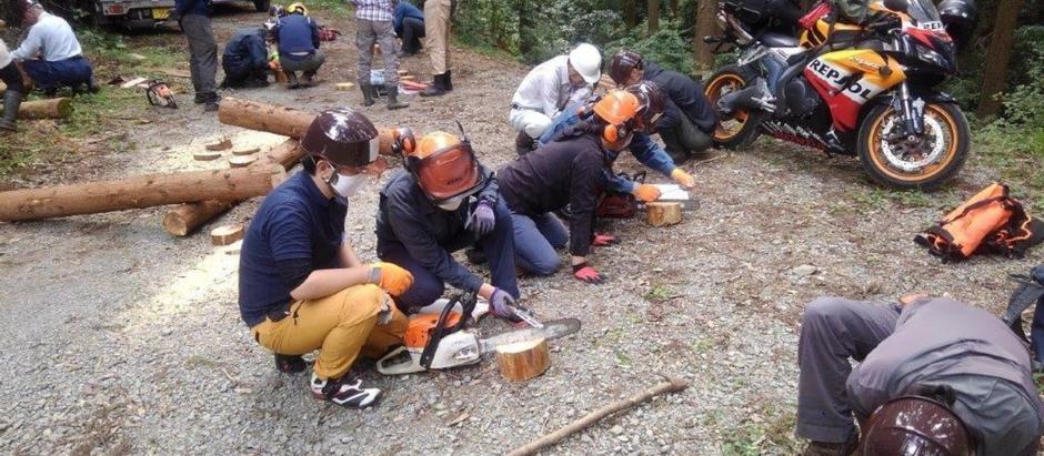 【福岡】林業就業支援事業20日間研修が始まりました。