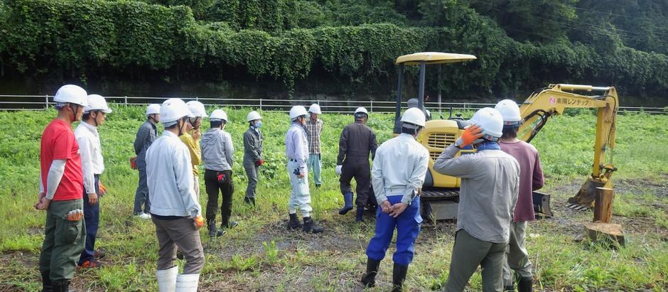 【大分】林業就業支援事業20日間研修が始まりました。