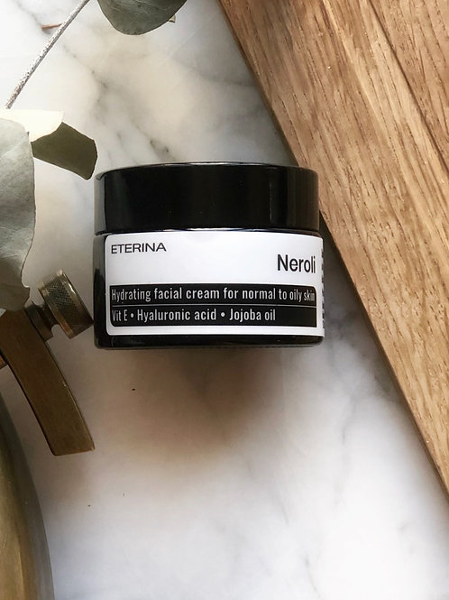 Neroli Hydrating facial cream for normal to oily skin