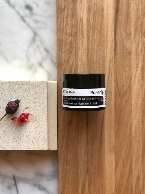 Rosehip Hydrating and nourishing eye cream for all skin types