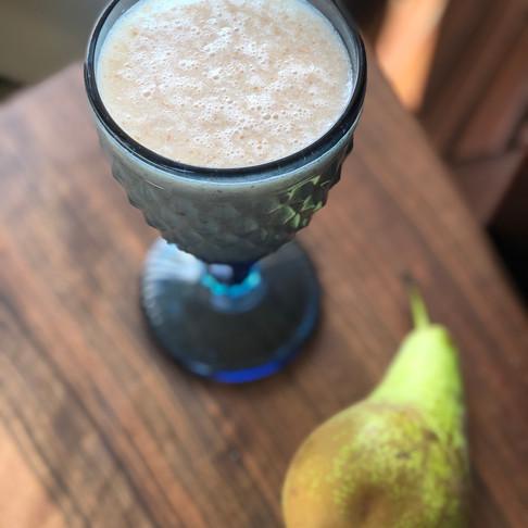 Напитка от круша и ленено семе
