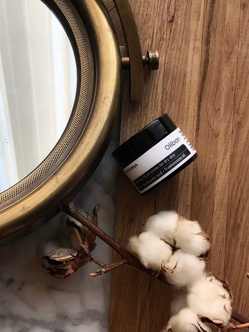 Oliban Hydrating facial cream for dry skin