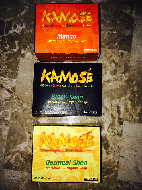 Kamosé Black Soap 2 pack