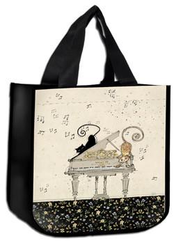 Chat et son piano