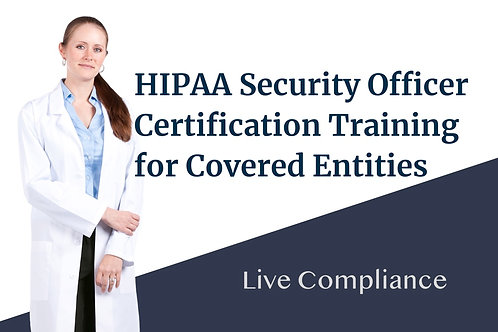 HIPAA Security Officer Training