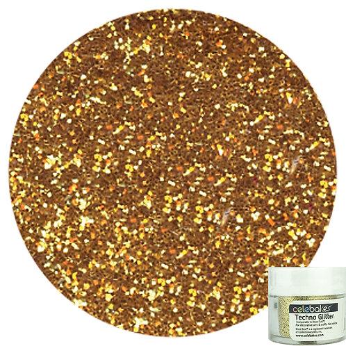 Techno Glitter Gold