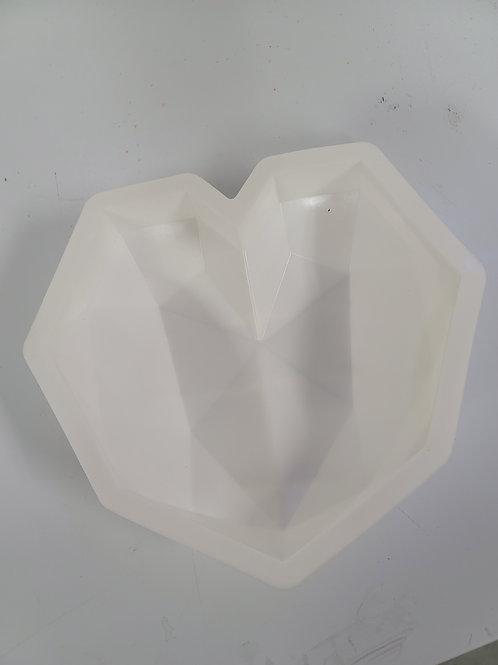 Large Heart Breakable Mold