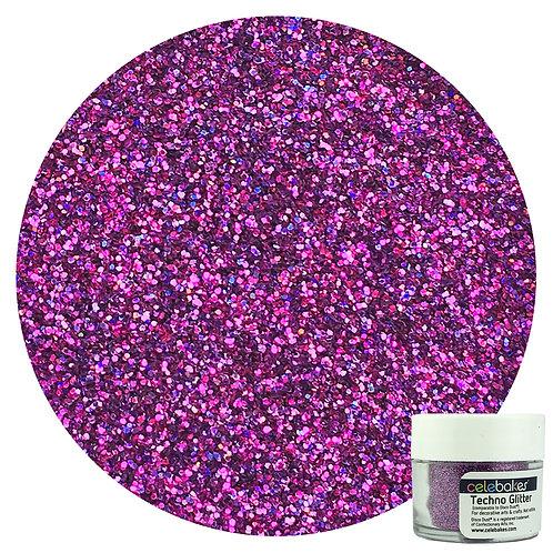 Techno Glitter Plum