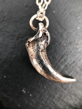 Cast Claw Necklace