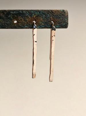 Silver Streak Earrings