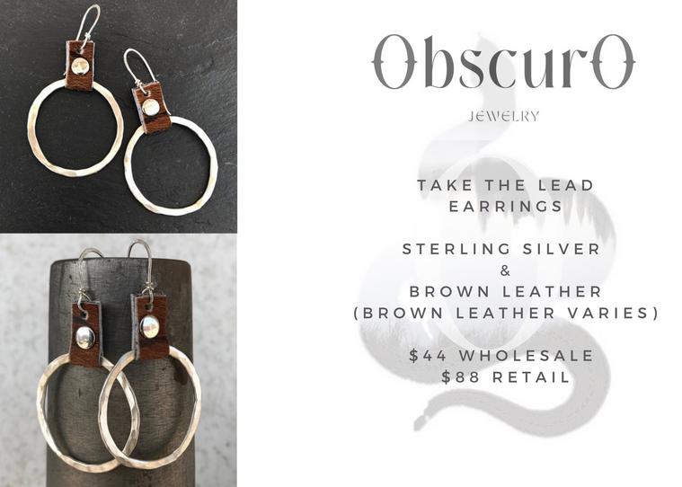 Take The Lead Earrings- brown.png