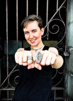 Emily & rings
