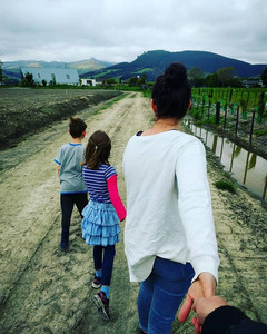 #MHAWNZ Connect/Whakawhanaunga Day 1 MARAMATAKA-MUTWHENUA Together outside near our home. Feeling grounded by the land and watched over by the Port Hills.  These people are the heart of my whanau. They keep me going and give me life. Time spent with them is never wasted.  While being a parent and husband can often be one of the big challenges in my life, it's also the most rewarding part.  Living life feeling connected with my whanau, the land, nature and life around me helps anchor me in a story bigger than myself.  Join me and @mhfnz in reminding ourselves how to keep well and healthy this #MHAWNZ  #mentalhealth #selfcare #counselling