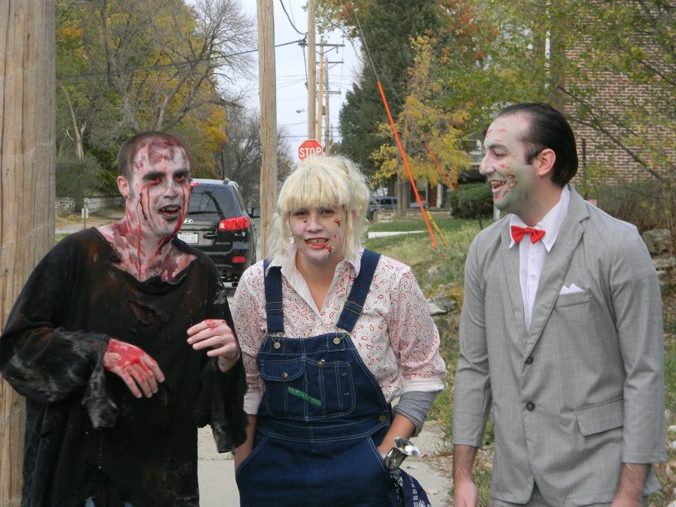 Zombie Dottie (with Pee Wee)