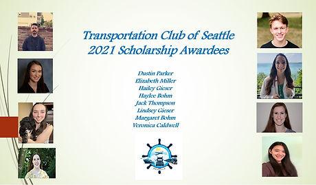 TCoS 2021 Scholarship Awardees.JPG