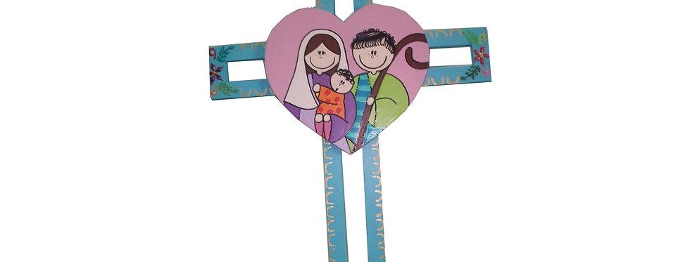 Crucifixo Coração